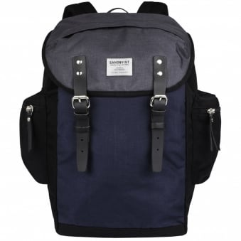 Blue & Black Lars Goran Backpack