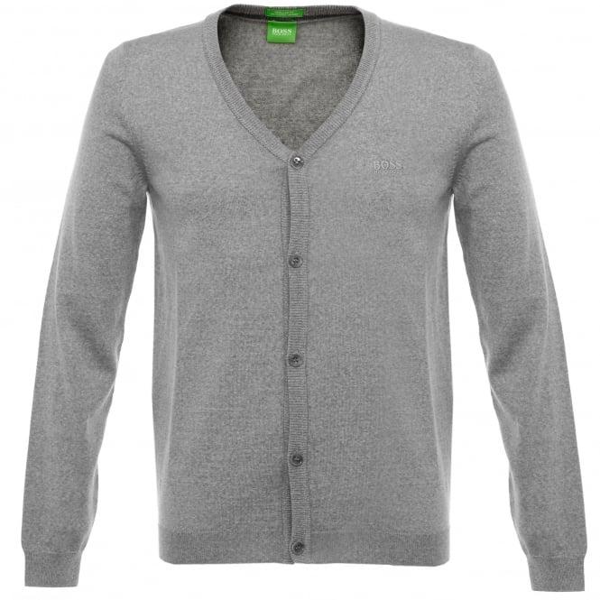Boss Green C-Can 01 Ligh Grey Cardigan 50323458
