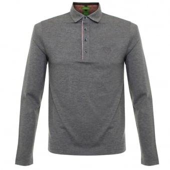 Boss Green C-tivoli 1 Medium Grey Polo Shirt 50320709