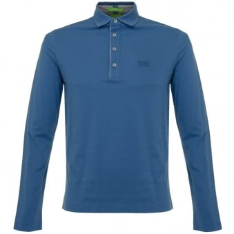 Boss Green C-tivoli 1 Open Blue Polo Shirt 50320709