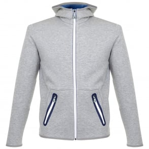 Boss Green Skeach Grey Hooded Jacket 50326281