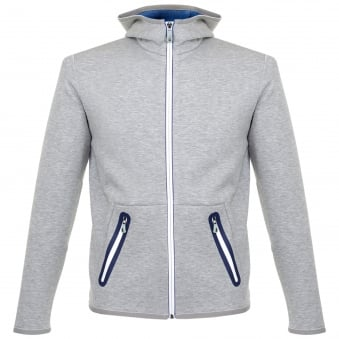 Boss Green Skeach Grey Hooded Jacket 50326281