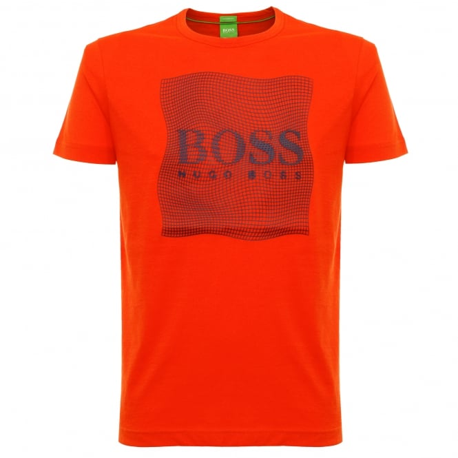 Boss Green Tee 8 Dark Orange T-Shirt 50319815