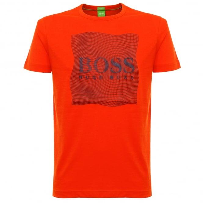 Boss Green Tee 8 Dark Orange T-Shirt 50319815