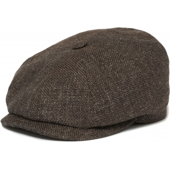 Brown Hatteras Ellington Flat Cap