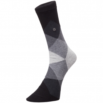 Burlington Fashion Grey Black socks 20942 3000