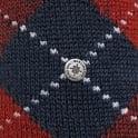 Burlington Socks Burlington Preston Argyle Deep Navy Socks 242846155