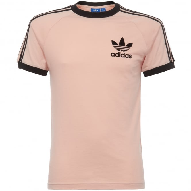 Adidas Originals California T-shirt - Vapour Pink & Black