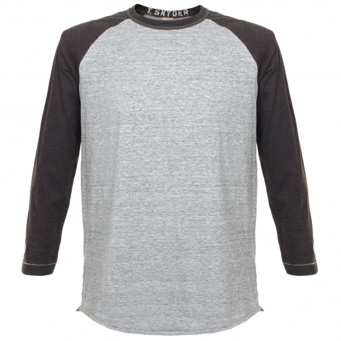 Champion x Todd Snyder Champion X Todd Snyder Baseball Grey T-Shirt D166X66