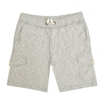 Champion X Todd Snyder Grey Heather Cargo Sweat Shorts D535X16