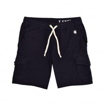 Champion X Todd Snyder Navy Cargo Sweat Shorts D535X16