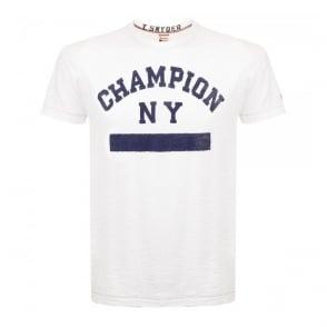Champion X Todd Snyder White T-Shirt D021B65