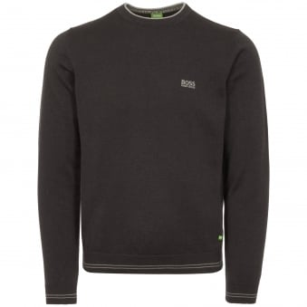 Charcoal Rime Crew Neck Jumper