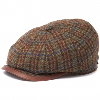 Checked Beaumont Newsboy Cap