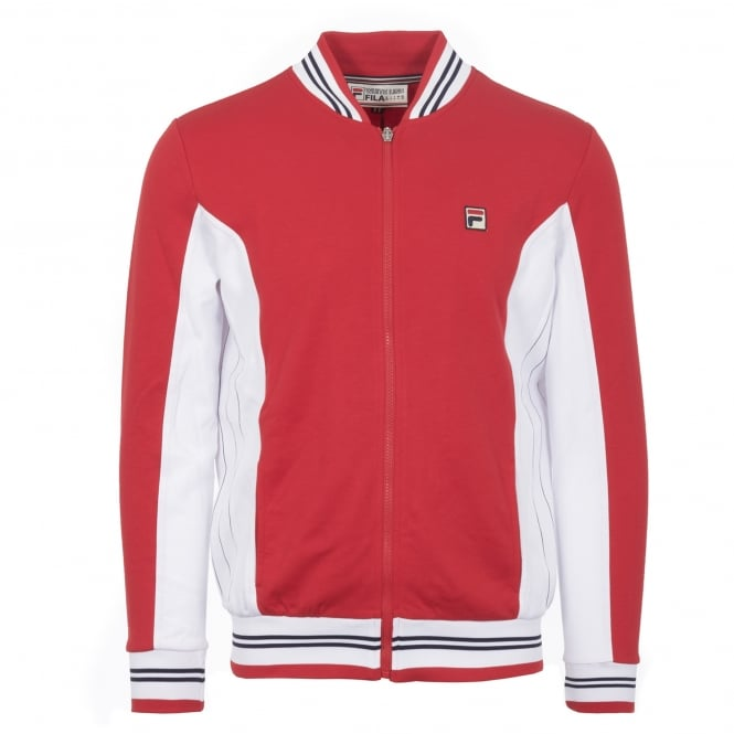 Fila Vintage Chinese Red Settanta Track Top