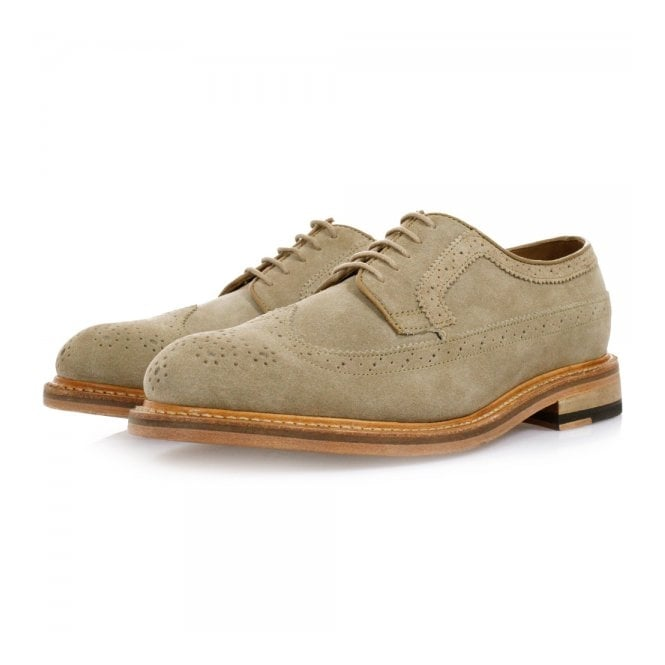 Clarks Originals Clarks Edward Style Brogue Taupe Shoes 261077