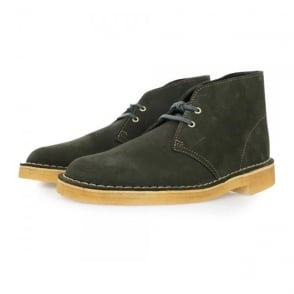 Clarks Originals Desert Boot Loden Green Boots