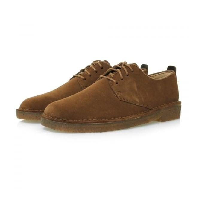Clarks Originals Desert London Cola Suede Shoes 11826