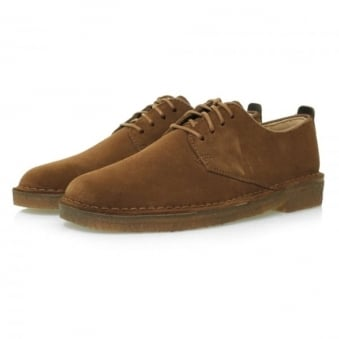 Clarks Originals Desert London Cola Suede Shoes 11826