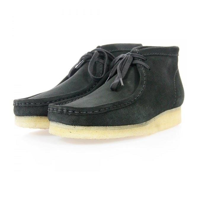 Clarks Originals Wallabee Black Suede Boot 2610366