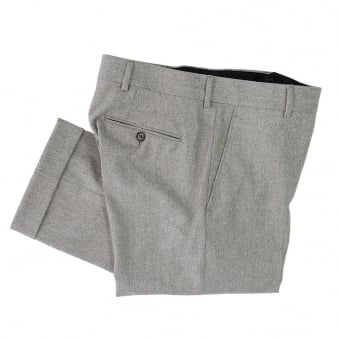 Crombie Oatmeal Trousers A0152TRBE