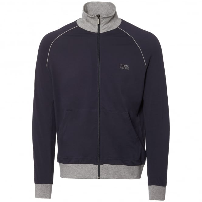 BOSS Hugo Boss Dark Blue Track Jacket