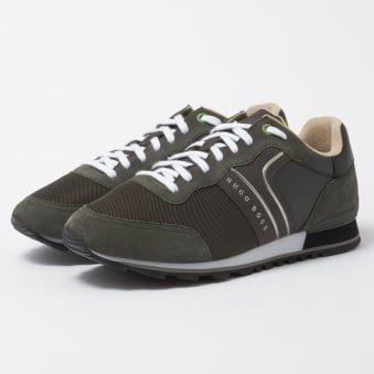 Dark Green Parkour Runn Nymx Trainers