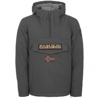 Dark Grey Rainforest Winter Jacket