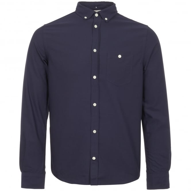 Norse Projects Dark Navy Anton Oxford Shirt
