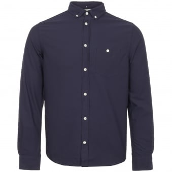 Dark Navy Anton Oxford Shirt