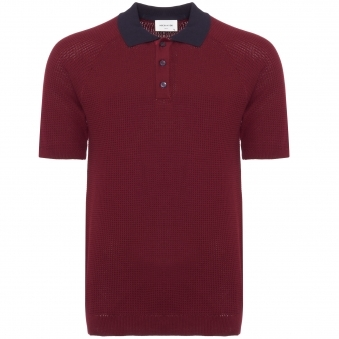 Dark Red Kosmo Polo