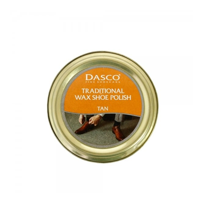 Dasco Traditional Wax Shoe Polish Tan Shoecare A3232DND