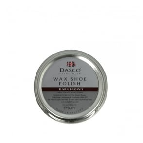Dasco Wax Shoe Polish Dark Brown