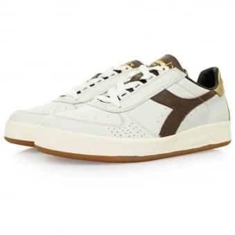 Diadora Borg Elite L White Shoes 20006