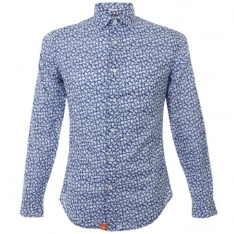 Dockers the Laundered Blue Shirt 67343-0006