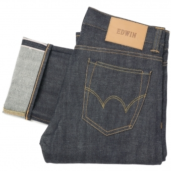 ED-71 Red Listed Selvage Denim Jeans - Unwashed
