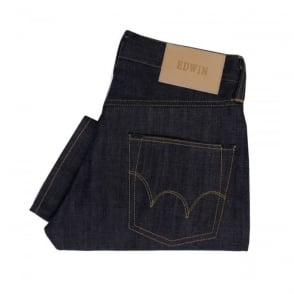Edwin ED 55 Deep Blue Tapered Denim Jeans I02249948