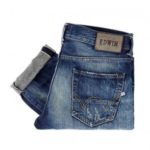 Edwin Ed-80 Slim Tapered Rainbow Selvage Denim Jeans I015065