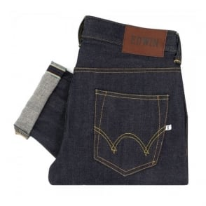 Edwin ED-80 Slim Tapered Rainbow Selvage Denim Jeans I015065