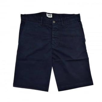 Edwin Rail Navy Shorts I021281
