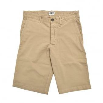 Edwin Rail Stone Beige Shorts I021281