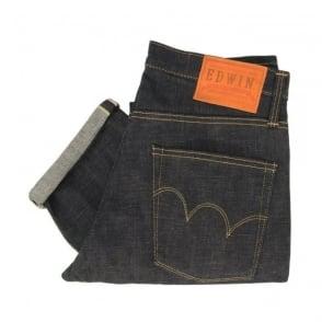 Edwin Rebel Vintage Raw Dark Selvedge Denim Jeans P52095AF08933