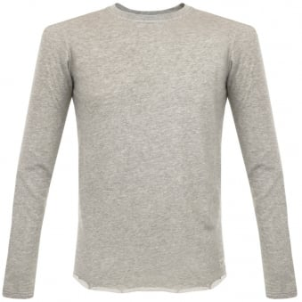 Edwin Terry Grey Marl Sweatshirt I017227