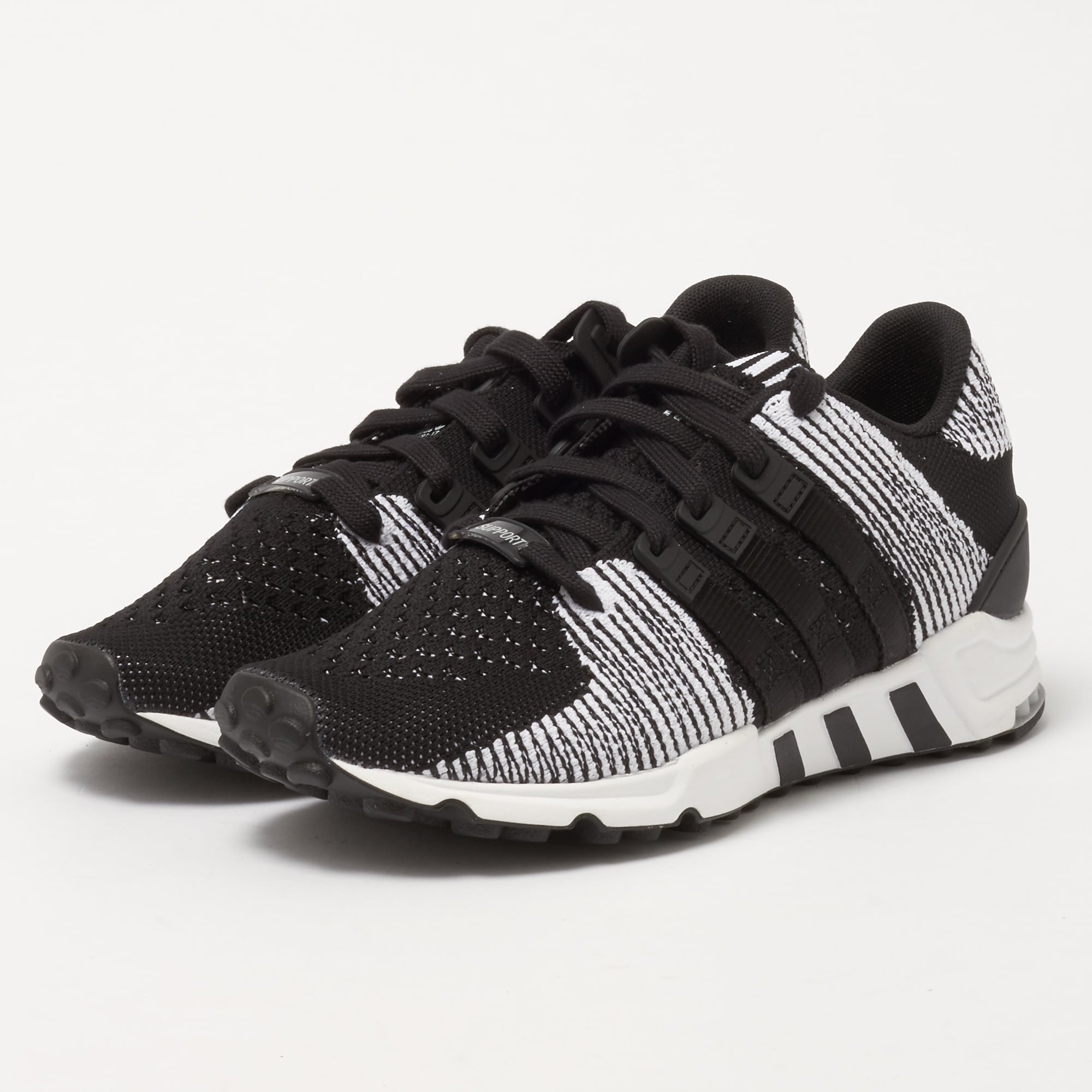 brand new 49276 f31b5 EQT Support RF Primeknit - Core Black amp FTW White
