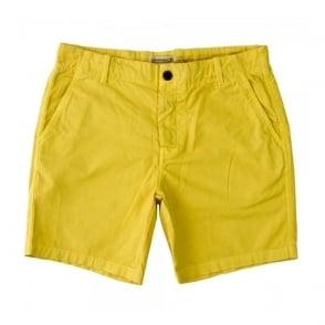 Farah Pilkington Cream Gold Shorts F9HS5021