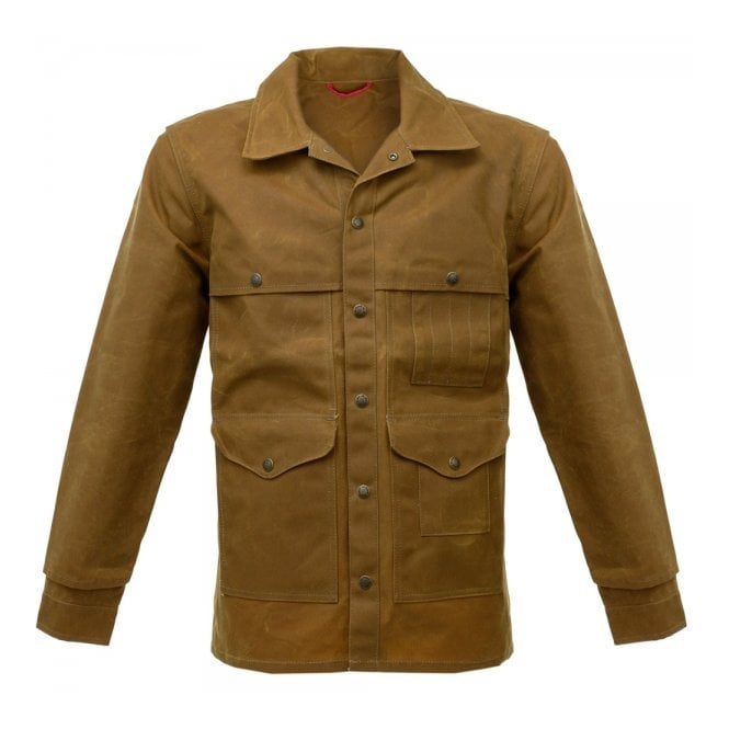 Filson Filson Oil Tin Cloth Tan Cruiser Waxed Jacket 10408242103