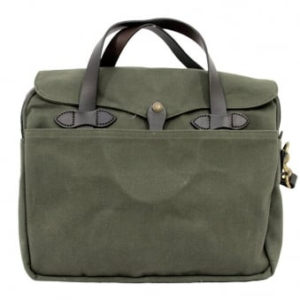 Filson Original Briefcase Otter Green 70256341135