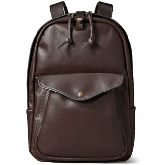 Filson Weatherproof Leather Journeyman Backpack 38883