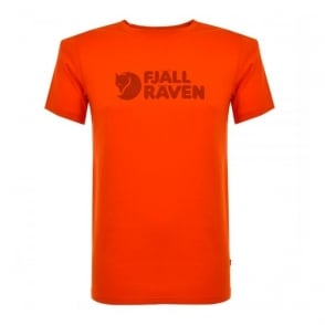 Fjallraven Logo Orange T-Shirt 81822