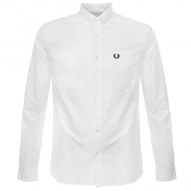 Fred Perry Authentic Fred Perry Classic Oxford White Shirt M9546 100